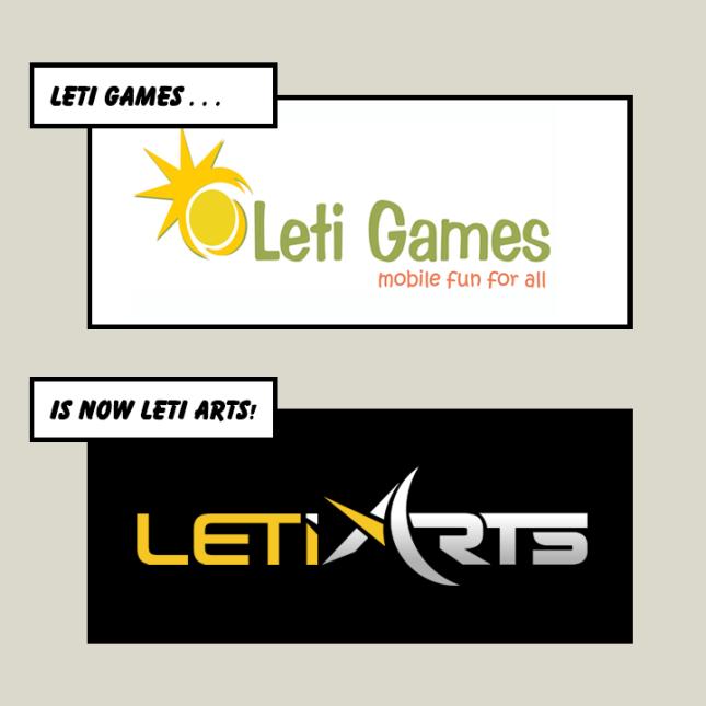 Leti Arts Rebrand